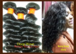 Remy roots hair - Deep wave